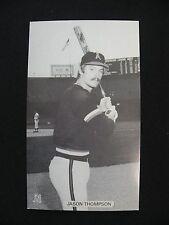 J.D. McCarthy Jason Thompson  Angels postcard baseball