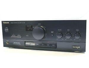 TECHNICS SU-X102 Stereo Integrated Amplifier 40 watts in black