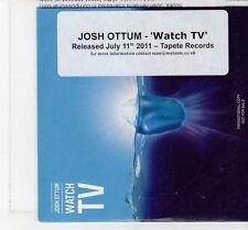 (FT437) Josh Ottum, Watch TV - 2011 DJ CD