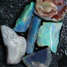 73.40 cts Australian Solid  Opal Rough, Lightning Ridge Parcel Fossils