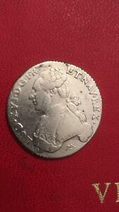piece argent Ecu Louis XVI 1786 N
