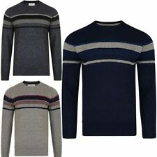Acrylic Crew Neck Long Jumpers & Cardigans for Men