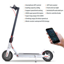 "Folding Electric Scooter 31KM/H Speed E-Scooter 350W Motor 36V 10.4Ah 8.5"" Wheel"