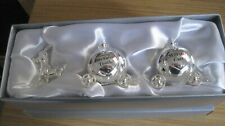 BN Silverplated Cinderella Carriage - First Curl & Tooth - Christening Gift