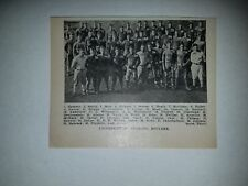 University of Colorado Buffaloes 1925 Football Team Picture