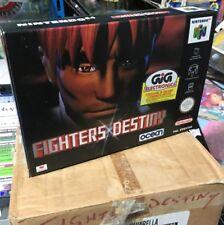 RETRO GAMES GIOCO NINTENDO 64 FIGHTERS DESTINY ISTRUZIONI ITALIANO GAME new
