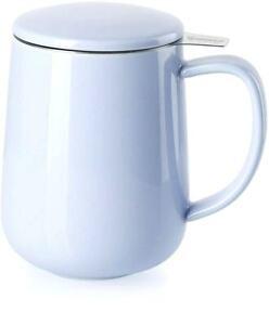 Tea Mug with Infuser and Lid Lilac