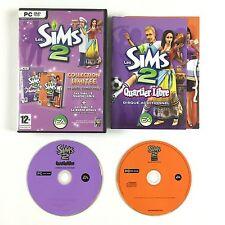 Jeu Les Sims 2 - Quartier libre + La Bonne affaire Sur PC