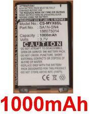 Batterie 1000mAh type 188075014 SA1N-SN4 Pour Sagem myX-7