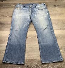 DIESEL Zatiny Bootcut Jeans Wash  00823U W34  L25 - Button Fly Distressed