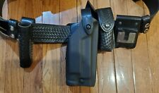 Tactical Police/Security Duty Belt Glock Safariland Holster With All Pouches