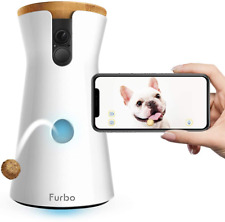 Furbo Dog Camera Treat Tossing Feeder Full HD Wifi Pet Camera 2-Way Audio Phone