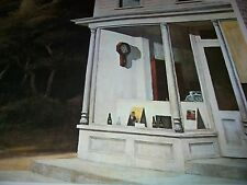 SEVEN A.M. Edward Hopper Color Print American Artist House Storefront Drugstore