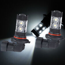 2x 6000K White 9005 HB3 60W For Car DRL Fog Driving LED Light Bulbs Replacement