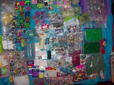 A Huge Selection Of Craft Material Including Beads, Chains,