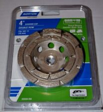 Norton Diamond Cup- Double Row Diamond 4-in 24-Grit Cup Wheel