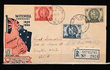 Australiafirst day registered cover complete set 1946