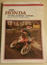 Clymer Service Repair Manual Honda 125cc to 250cc Elsinores years 1973 to 1980