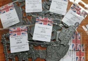 Britannia Cutting Dies - Wedding - Choose Die - Card Making / Scrapbooking