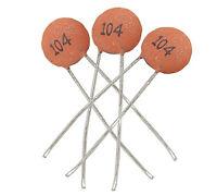 Condensatori di dischi ceramici Stabili 100 pz / borsa 50V 100nF 0.1uF 104pF