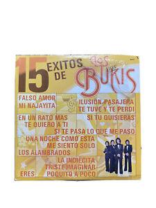 15 EXITOS DE LOS BUKIS LP VINYL RECORD LASER LASI 3001