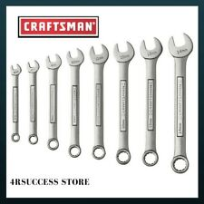 Combination Wrench Set Craftsman 12 Pt 8 Pc Metric New Gift 8pc 47243