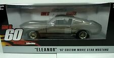 """""""ELEANOR"""" 67 Mustang """"Gone in 60 Seconds"""" Hollywood Movie Car 1:24 Diecast"""
