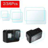 2Set 9H Tempered Glass Protective Film Screen Protector for GoPro 8 Camera 2019