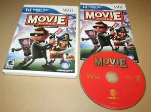 Movie Games: 20 Party Blockbusters! for Nintendo Wii Complete Fast Shipping!