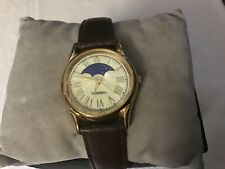 Fossil Vintage Moon Phase Watch with Prism Cut Crystal, PC-9615 AWESOME!