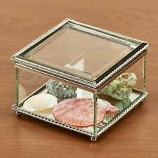 Glass Square Hinged Box w Mirror [ID 3853739]