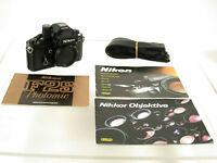 Nikon F2 S F2S DP-2 black Schwarz top body Gehäuse classic premium analog /18
