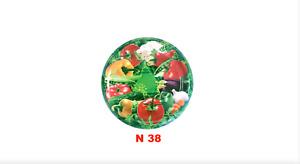10 JAM JAR LIDS 6 CLIPS BRAND NEW 82mm STANDARD GLASS JAR-VINEGAR PROOF N38
