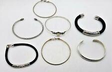 Lot of 7 925 Sterling Silver Bracelets LB819