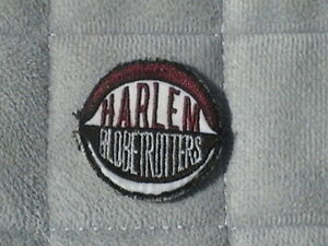 "Harlem Globetrotters Patch. 1 1/2 "" wide. Basketball. Sports"