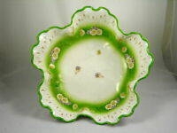 Scalloped edge flower shaped bowl - B.R.C. Voltaire Germany China