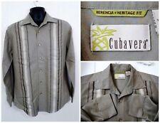 Cubavera S Modal Polyester L/S Tan                K45