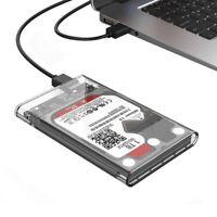 """USB3.0 2.5"""" HDD SSD Externe Festplatte Box PC Desktop Mobile Hard Disk Case Cove"""