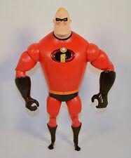 "12"" Talking Interactive Mr Incredible Thinkway Action Figure Disney Incredibles"