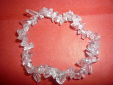 cristalloterapia BRACCIALE braccialetto QUARZO IALINO cristallo di rocca pietre