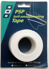 PSP Marine Self Amalgamating Tape - White - 25mm x 5mtr