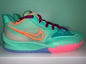 2021 Nike Kyrie 4 IV Low Keep Sue Fresh Green Glow Mens Sz 8-13 CW3985-300