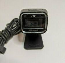 Microsoft LifeCam HD-5000 720p HD Webcam, Black, Skype Compatible Telecommute