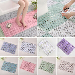 Removable Anti Slip Shower Mat Bathroom Massage Stitching Pad Safety Bath Well
