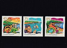 COCOS Islands 1997 HARI RAYA PUASA Festival  set of 3 MNH. -
