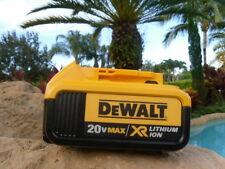 (1) New GENUINE Dewalt 20V DCB204 4.0 AH MAX XR Battery For Drill Saw NEW!