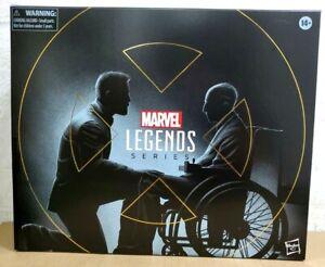 "IN HAND HASBRO MARVEL LEGENDS 6"" X-MEN LOGAN & CHARLES XAVIER 2 PACK FIGURES"