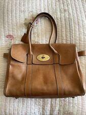 Designer Leather Handbag Bayswater Brown Leather