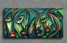 Urban Expression Art Original PAINTING MODERN Contemporary DECOR Mix Lang cert.