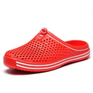 Mens Womens Mules Sandals Slip On Slides Summer Wetsuit Beach Pool Flip Flops US